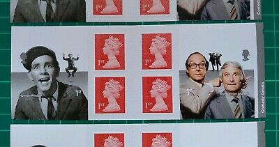 2015 Comedy Greats Self Adhesive Retail Booklet plain