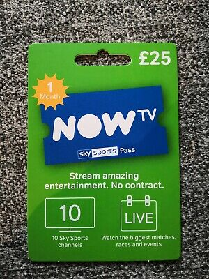 Now tv sky sports pass month