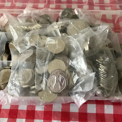20x50 PENCE COIN 2019 PADDINGTON BEAR TOWER OF LONDON SEALED BAG UNCIRCULATED