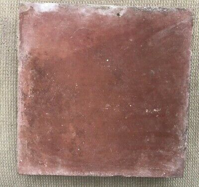 Reclaimed  Victorian Terracotta 8x8 Inch x 1 Inch Red Quarry Floor Tiles