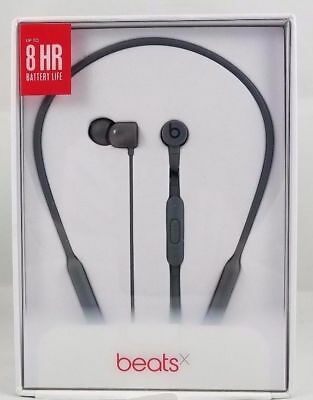 NEW OEM Beats by Dr Dre BeatsX Beats X Wireless Bluetooth In-Ear Headphone Gray