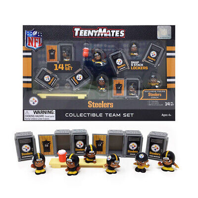 Pittsburgh Steelers 14 Pc. 2019 Nfl Teenymates Team Set New In Box Nfl Licensed