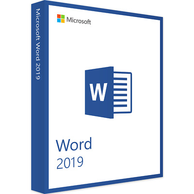 Microsoft Word 2019 Full Version Immediate Shipping German