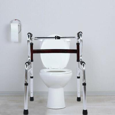 Disabled Free-Standing Toilet Frame & Mobility Walker Bathroom Safety Aid