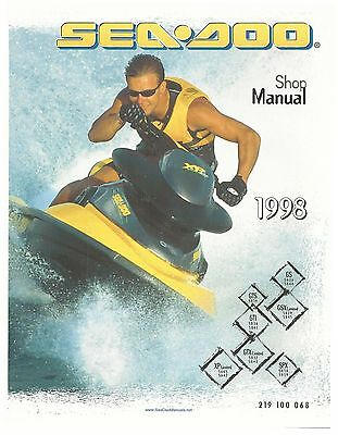Sea-Doo Service Manual 1998 GTX Limited & GTX RFI