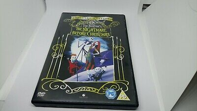 The Nightmare Before Christmas Special Edition DVD Movie