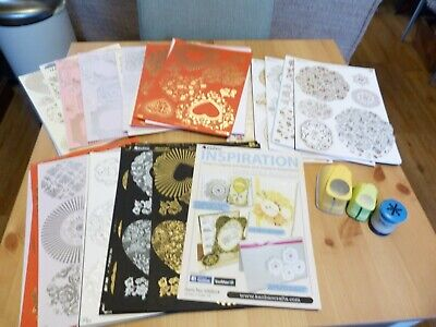 Complete craftroom clearout - pk 9 - kanban foiled mat kit and 3 punches