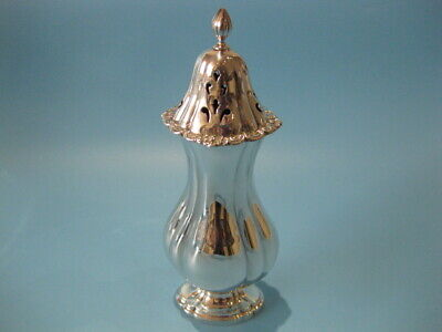 Very Beautiful Large Antique Silver Plated Victorian Sugar Shaker / Caster