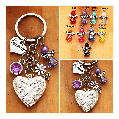 Personalised BIRTHDAY Gift Dog keyring for Mum Friend Daughter Sister Nanny #1