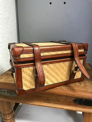 Leather Suitcase 17,5 Cm. Top Condition