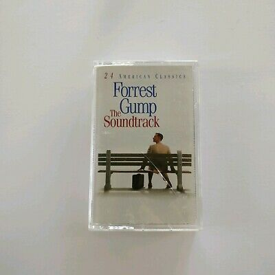 Forrest Gump the Soundtrack 1994 Stereo Cassette Tape
