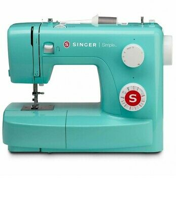 Singer 3223G Simple Sewing Machine Mechanical Green Free Arm 23 Sewing Programs