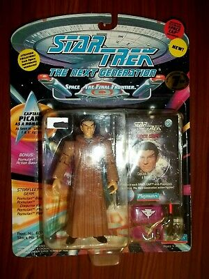 "1994 Star Trek Tng Playmates 5"" Captain Picard As A Romulan Figure - New"