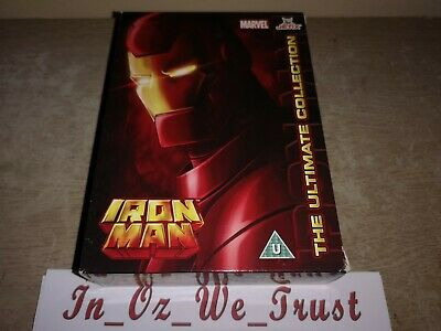 Iron Man - The Ultimate Collection (DVD, 2010, 5-Disc Box Set)