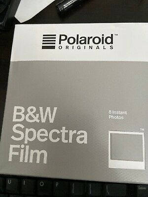Polaroid Originals B&W Instant Film for Spectra type Polaroid Cameras New