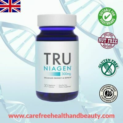 Tru Niagen® Chromadex Anti-aging Supplement *NEW* 30 x 300mg capsules per bottle