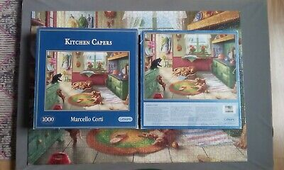 GIBSONS JIGSAW PUZZLE 1000 PIECES Treasures Within by MARCELLO CORTI G6094