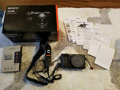 Sony Alpha a6400 Mirrorless Digital Camera (Excellent, Body Only, US Warranty)