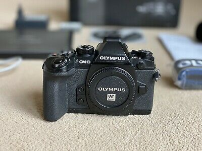 Olympus OM-D E-M1 Micro 4/3 Camera-Black. Fully Serviced By Olympus, New Shutter