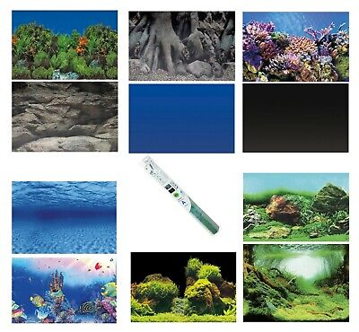 Superfish Deco Poster Aquarium Background Double Sided Pictures Fish Tank