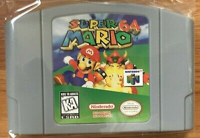 Super Mario 64 for Nintendo 64 Video Game Cartridge US Version - US SELLER