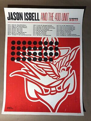 Jason Isbell Tour Poster Summer 2017