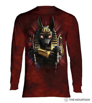 The Mountain Adult Long Sleeve T-Shirt - Anubis Soldier NEW!-2X