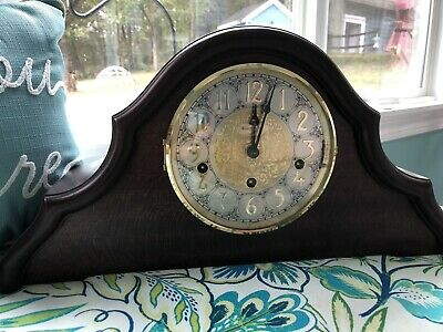 2002 Westminster Chime Clock W/franze Hermle Mechanism