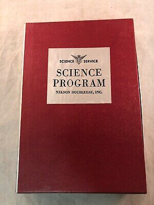 Science Service Science Program 1960 Nelson Doubleday Inc Man In Space Poster