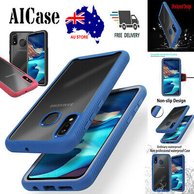 Shockproof Heavy Duty Dustproof Case Cover Fr Samsung Galaxy A20 A30 A50 A10E