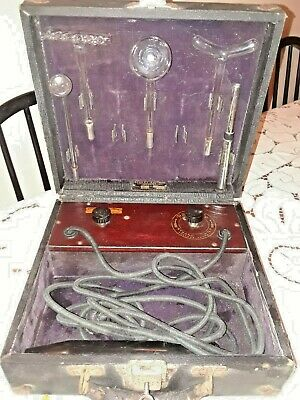 Antique Beasley-Eastman Renulife Violet Ray Generator Medical Quackery Device