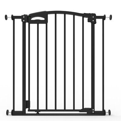 Child Safety Ultimate Safety Gate, Warm Black, Pressure Mounted (suits 73-82cm)