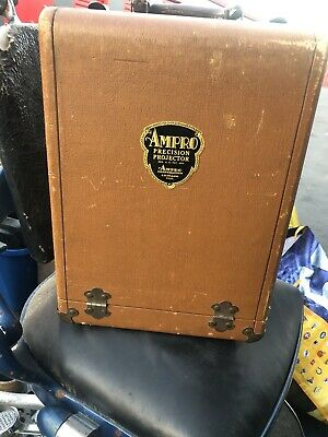 Vintage Ampro A8 8 MM Silent Film Movie Precision Projector and Case