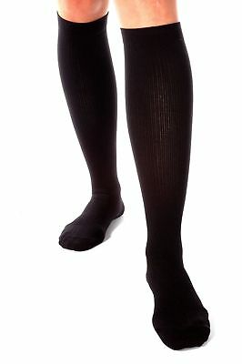 High Quality New Durable Unisex Calf / Knee High Compression Socks Size 10/13