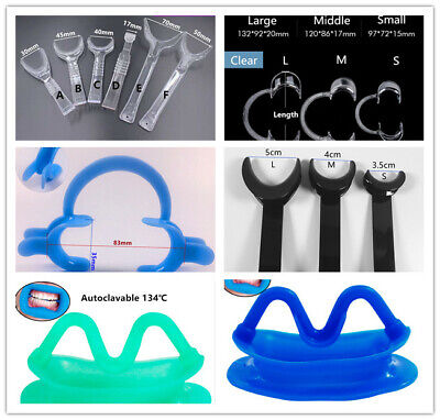 Dental Orthodontic Retractor Mouth Opener Photo Lip Hooks Cheek Expand 5Types
