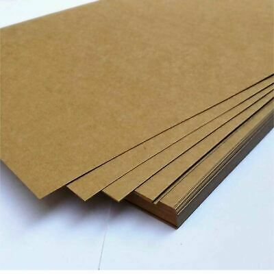 A4 Brown Kraft Paper Sheet 80GSM Natural Recycled Invitation Wedding