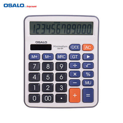 OSALO Desktop Electronic Calculator Standard Function Basic Counter LCD C8C0