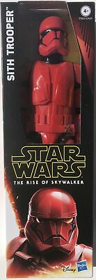 Star Wars The Rise Of Skywalker Sith Trooper 12 Inch Figure Red