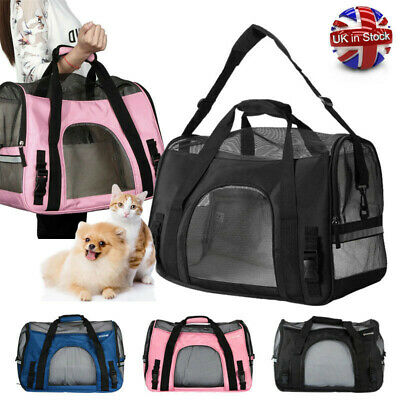 Winter Warm Pet Carriers Bags Dog Cat Puppy Backpack Portable Breathable Handbag