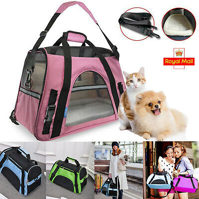 Warm Soft Mat Pet Dog Cat Carry Carrier Tote Cage Bags Portable Travel Handbags
