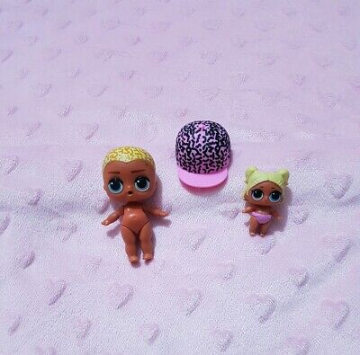 COLOR CHANGE LOL Surprise dolls Lil Sisters eye spy LIL SCRIBBLES /& BAG SHOES