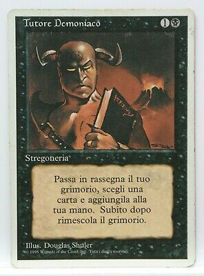 Strebe Demonic - Demonic Tutor - 3ED - Revised Edition - GD Eng - MTG