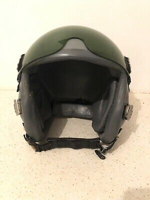 Set GENTEX Hgu-55/p Flight Helmet Size Medium + Mbu-12/p Oxygen Mask Size Regula