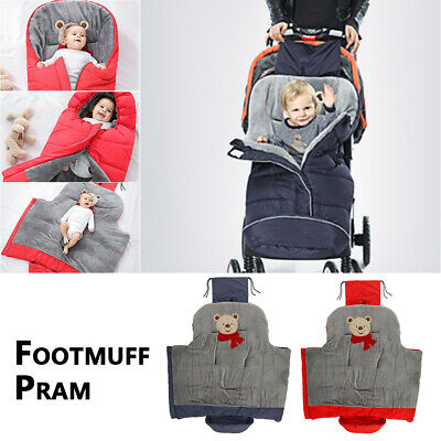Baby Footmuff Cosy Toes Universal Pushchair Stroller Buggy Pram Car Seat Warm UK