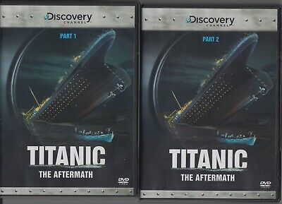 Titanic The Aftermath-Part 1 And Part 2-2 Dvd Set-Brand New Sealed