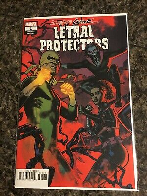 Absolute Carnage Lethal Protectors 1 Greg Smallwood Variant Nm
