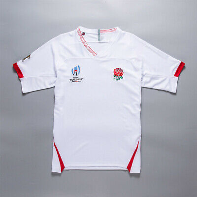 2019/2020 NEW  White England Rugby jerseys man T-shirt Size :S-3XL
