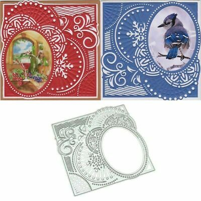 Lace Pattern Metal Cutting Dies Stencil Scrapbooking Embossing Album Card Craft