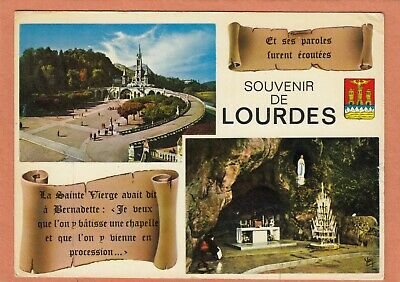 2349 - Lourdes - Ecrite + Flamme Centre Mondial Des Pelerinages