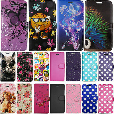 For Samsung Galaxy S10 & Plus Pu Leather Wallet Book Flip Slot Phone Case Cover